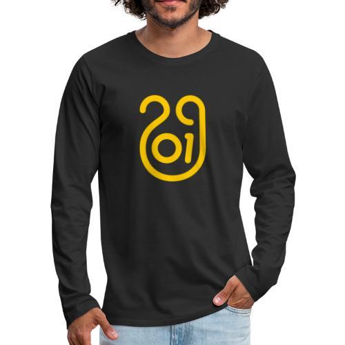 Annee du cochon jaune de terre - T-shirt manches longues Premium Homme