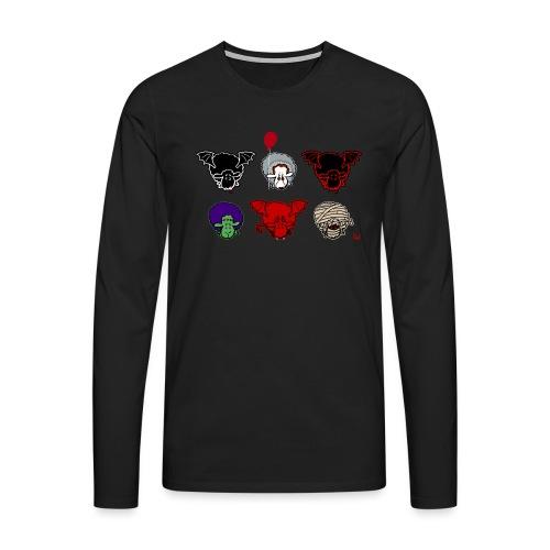 Sheepers Creepers - Premium langermet T-skjorte for menn