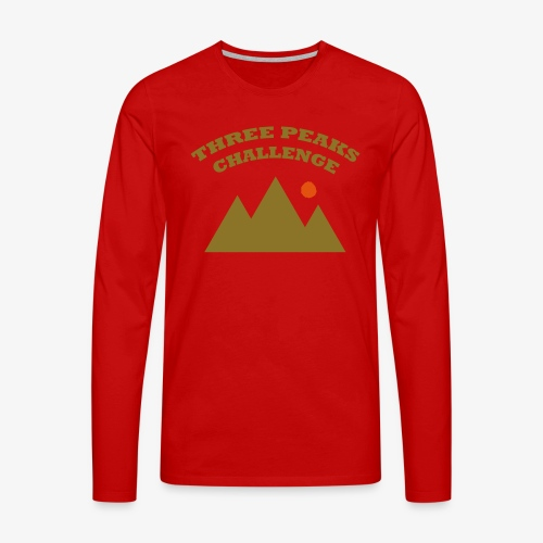Three Peaks Challenge - Men's Premium Longsleeve Shirt