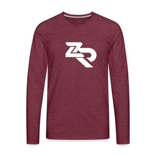 ZR Hoodie - Herre premium T-shirt med lange ærmer