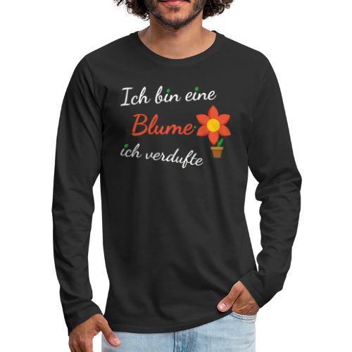 Blume Garten Gärtner Florist Shirt Geschenk - Männer Premium Langarmshirt