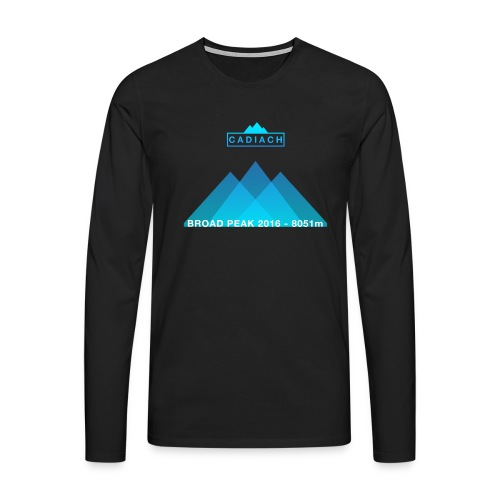 Cadiach Broad Peak 2016 - Hombre - Camiseta de manga larga premium hombre