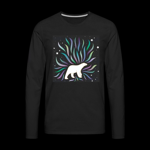 polar ours - T-shirt manches longues Premium Homme