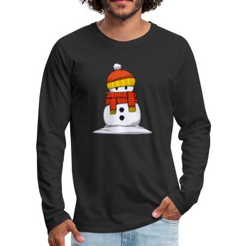 bonhome neige - T-shirt manches longues Premium Homme