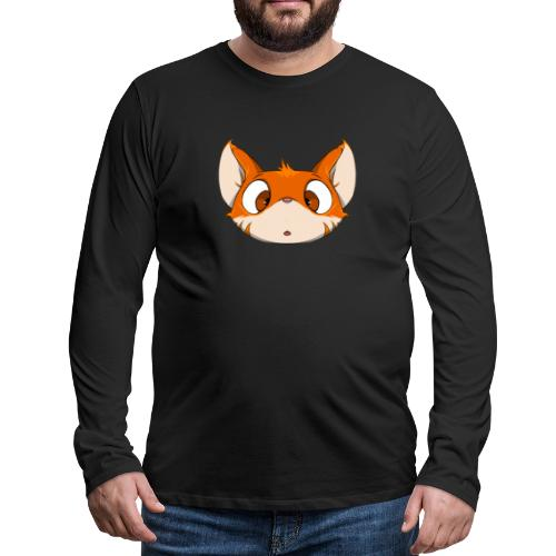 Fox - T-shirt manches longues Premium Homme