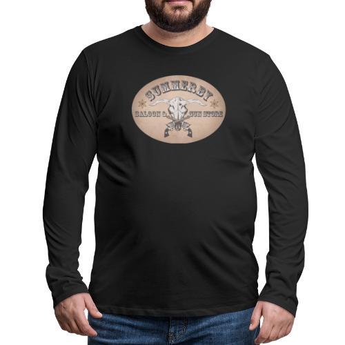 Summerby Saloon - Männer Premium Langarmshirt
