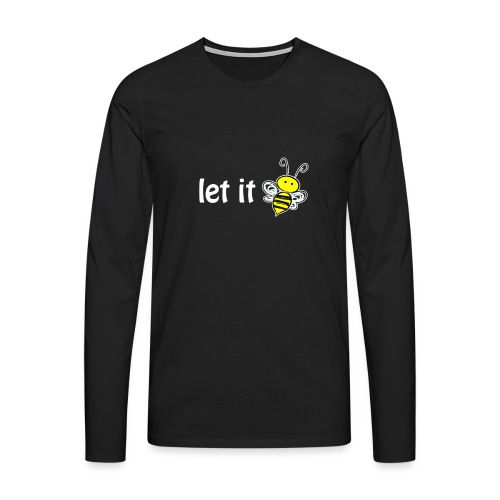 let it bee - Männer Premium Langarmshirt