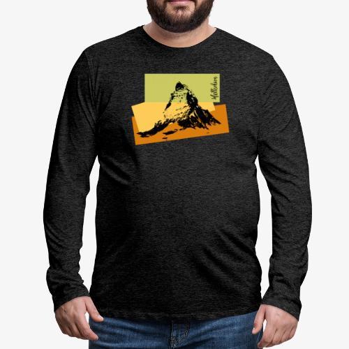 Matterhorn - Men's Premium Longsleeve Shirt