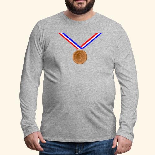 Bronze Medal 3rd - Men's Premium Longsleeve Shirt