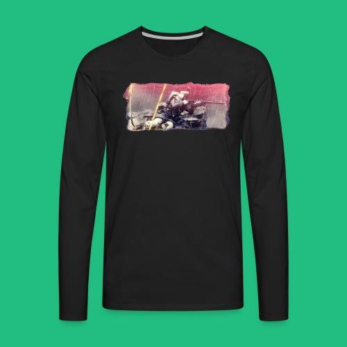 tireur couche - T-shirt manches longues Premium Homme