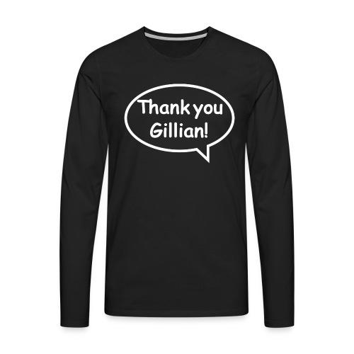Bubble Gillian - Men's Premium Longsleeve Shirt