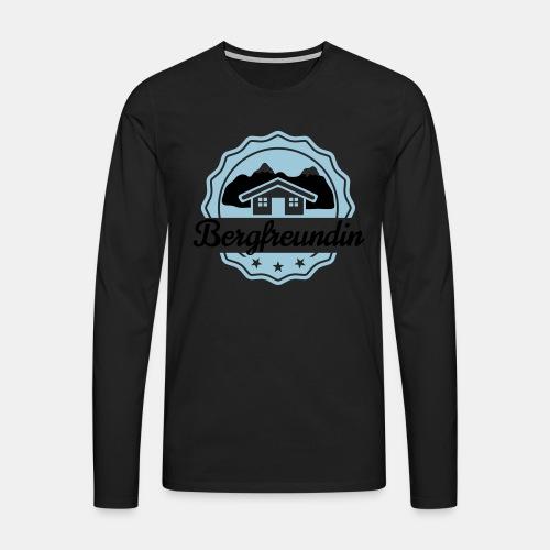Bergfreundin - Männer Premium Langarmshirt