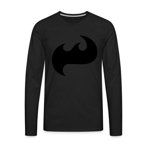 Highfish Logo - Männer Premium Langarmshirt