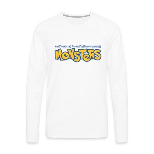 Monsters - Men's Premium Longsleeve Shirt