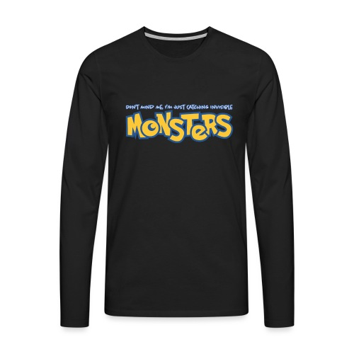 Monsters - Men's Premium Longsleeve Shirt