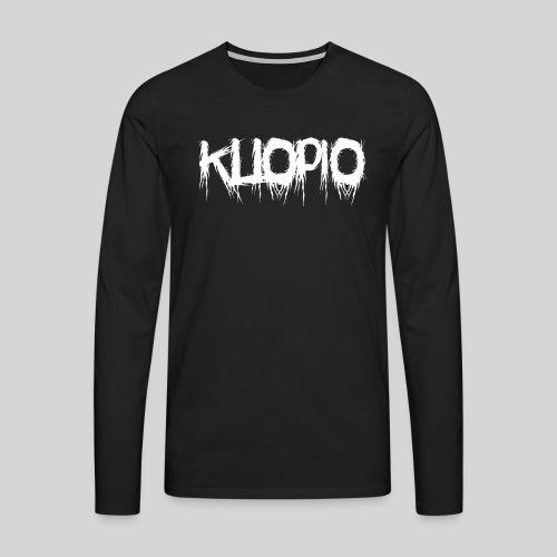 Kuopio - Miesten premium pitkähihainen t-paita