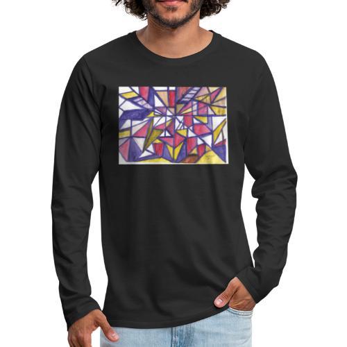 Flickenteppich - Männer Premium Langarmshirt