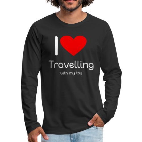 Spielzeug Reisen ToyVoyaging Shirt Geschenk - Männer Premium Langarmshirt