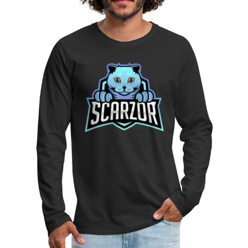 Scarzor Merchandise - Mannen Premium shirt met lange mouwen