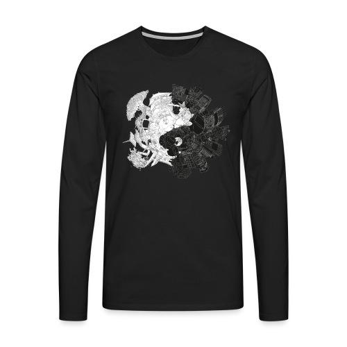New Yin Old Yang - Men's Premium Longsleeve Shirt