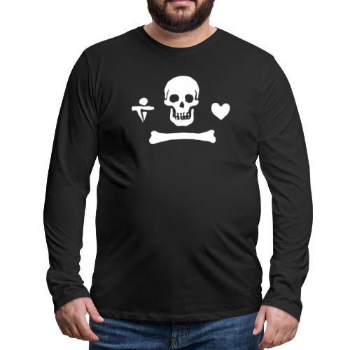 Stede Bonnet Flag - T-shirt manches longues Premium Homme