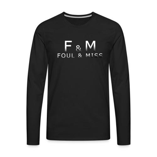 fmshirt snooker - Männer Premium Langarmshirt