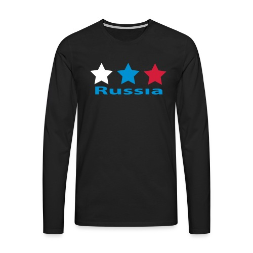 stars_russia - Männer Premium Langarmshirt
