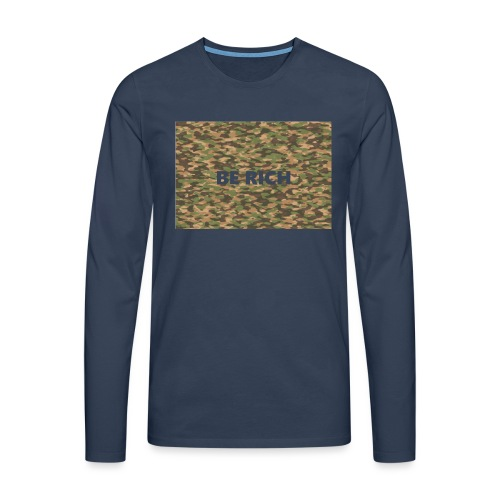 ARMY TINT - Mannen Premium shirt met lange mouwen