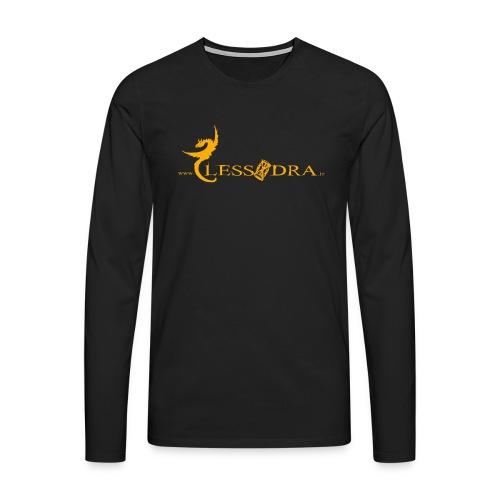 Clessidra 25 anni - Maglietta Premium a manica lunga da uomo