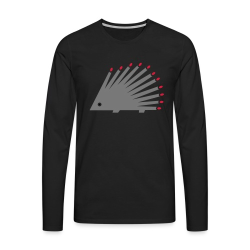 Hedgehog - Men's Premium Longsleeve Shirt