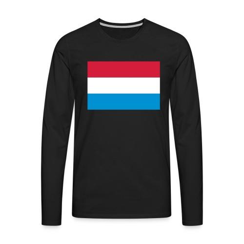 The Netherlands - Mannen Premium shirt met lange mouwen