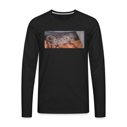 Ansku - Miesten premium pitkähihainen t-paita