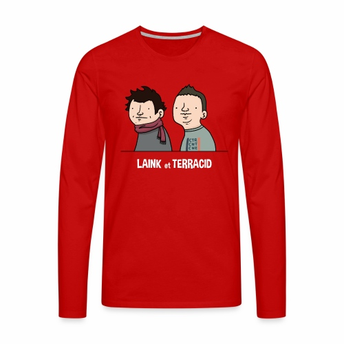 Laink et Terracid old - T-shirt manches longues Premium Homme