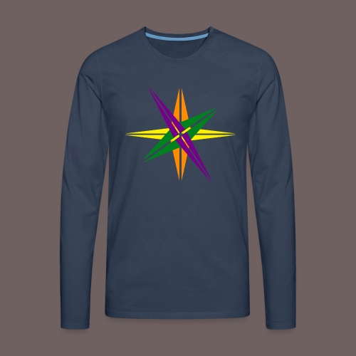 GBIGBO zjebeezjeboo - Love - Shining Star Color - T-shirt manches longues Premium Homme