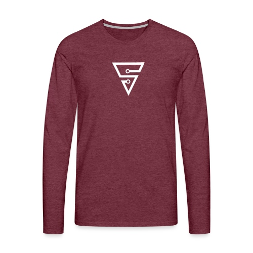 Spinaxe SnapCap - Men's Premium Longsleeve Shirt