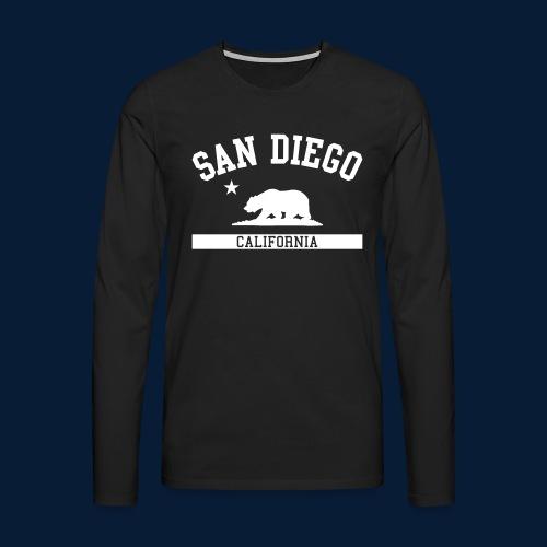 San Diego - Männer Premium Langarmshirt