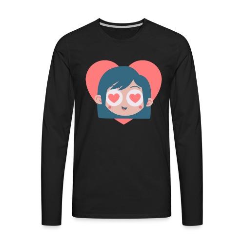 Gamine Amour - T-shirt manches longues Premium Homme