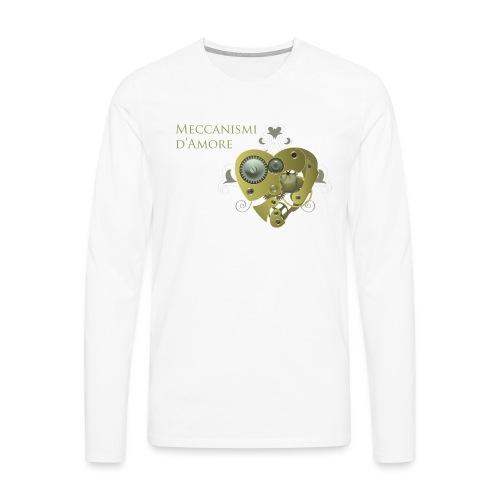 meccanismi_damore - Maglietta Premium a manica lunga da uomo