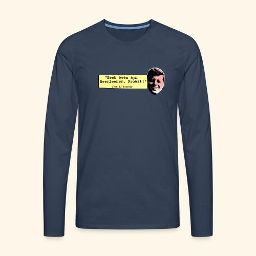 KENNEDY - Männer Premium Langarmshirt