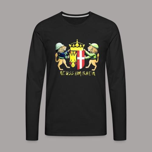 Neuss am Rhein - Männer Premium Langarmshirt