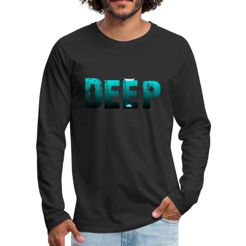 Deep In the Night - Maglietta Premium a manica lunga da uomo