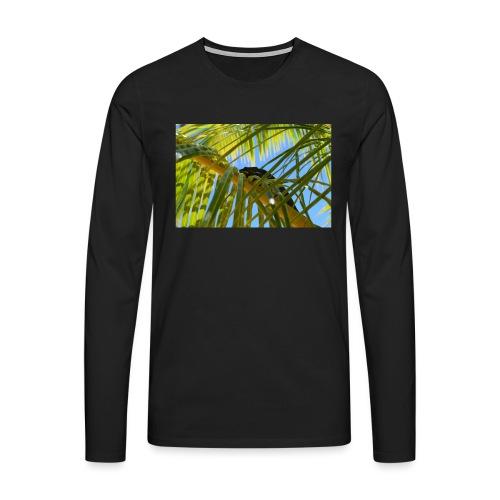 Camaleonte - Maglietta Premium a manica lunga da uomo