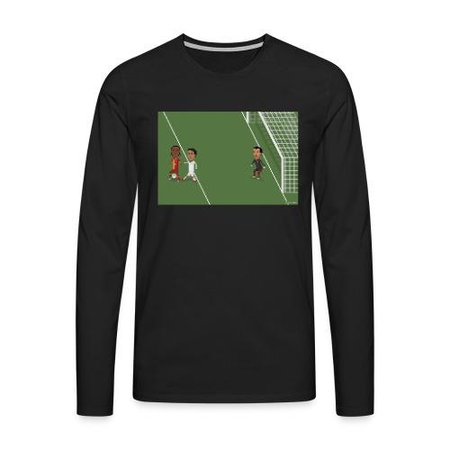 Backheel goal BG - Men's Premium Longsleeve Shirt