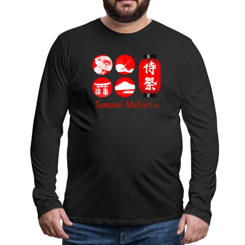 Samurai Matsuri Festival - Männer Premium Langarmshirt