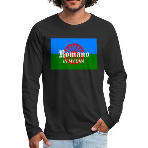 flaglennyinmydna - Långärmad premium-T-shirt herr