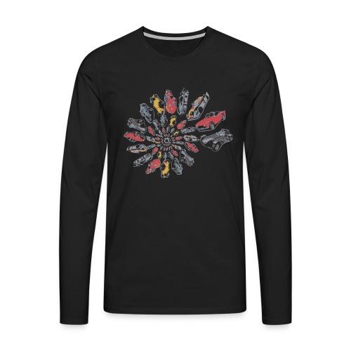 Car Swirl - Men's Premium Longsleeve Shirt