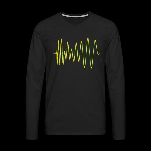 Boom 909 Drum Wave - Men's Premium Longsleeve Shirt