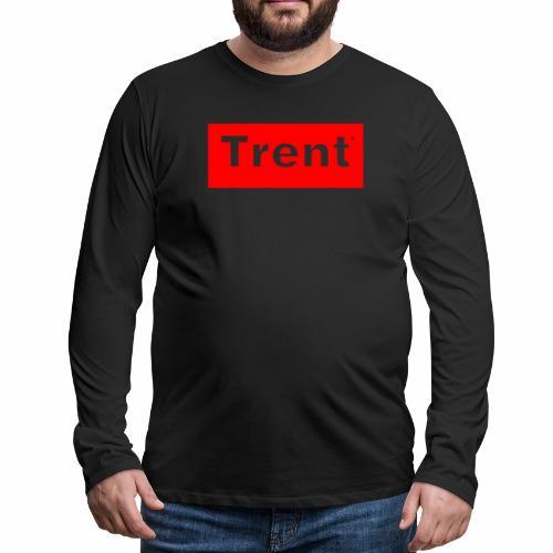 TRENT classic red block - Men's Premium Longsleeve Shirt