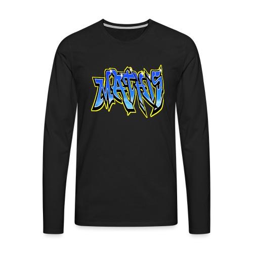 Graffiti Mathis - T-shirt manches longues Premium Homme