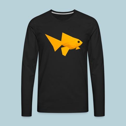 RATWORKS Fish-Smish - Men's Premium Longsleeve Shirt